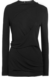 Proenza Schouler Draped crepe top