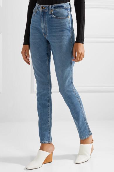 881587e55e Khaite. Vanessa high-rise skinny jeans