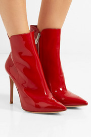 Gianvito Rossi Levy 100 patent-leather ankle boots
