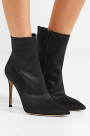 Arles 100 satin ankle boots