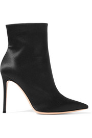 Gianvito Rossi Arles satin ankle boots