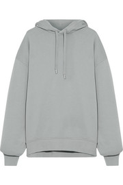 Acne Studios Yala oversized cotton-jersey hooded top