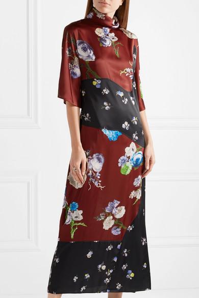Jorny floral-printed jersey dress Acne Studios vJx3roA