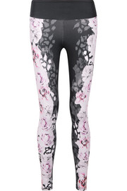 Bodyism I Am Rosy printed stretch leggings