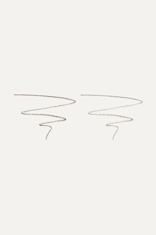 LashFood BrowFood Ultra Fine Brow Pencil Duo – Brunette – Augenbrauenstift
