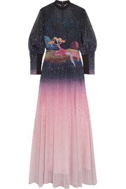 Mary Katrantzou Day Dream embellished ombré tulle gown