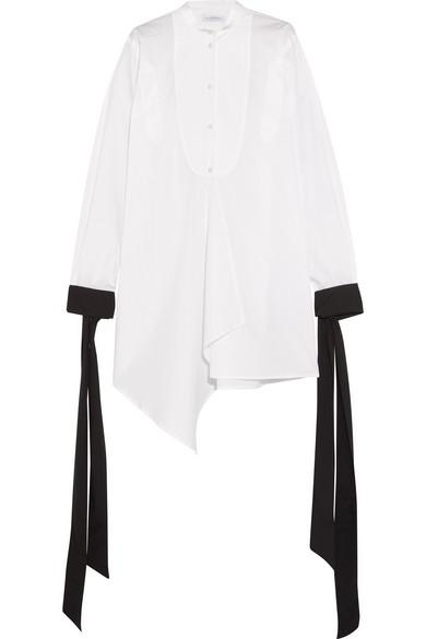 J.W.Anderson - Oversized Cotton-poplin Shirt - White