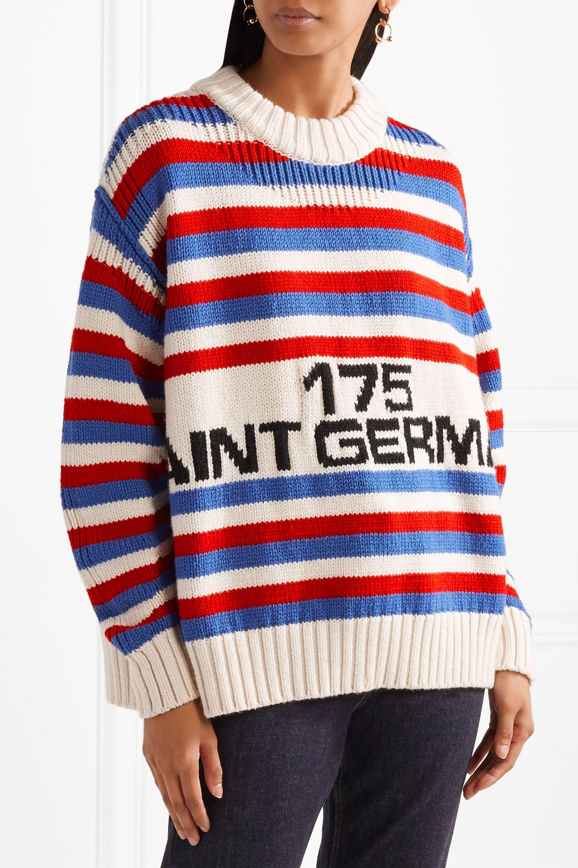 Sonia Rykiel Oversized intarsia wool sweater