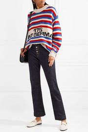 Sonia Rykiel Oversized intarsia wool sweater