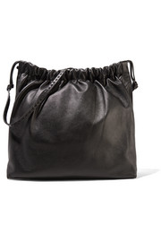 Wander textured-leather shoulder bag