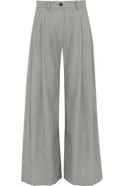 Inez wool wide-leg pants