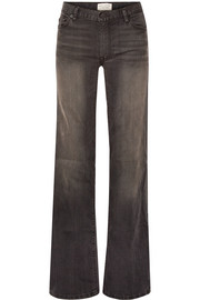 Ena mid-rise wide-leg jeans