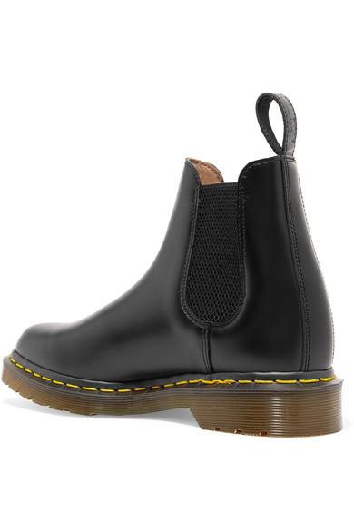 2431cea79f64c Comme des Garçons Comme des Garçons. + Dr Martens leather Chelsea boots.  £210.00. Zoom In
