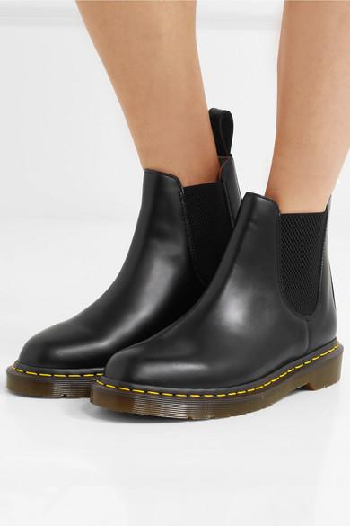 51b670d159ca4 Comme des Garçons Comme des Garçons. + Dr Martens leather Chelsea boots