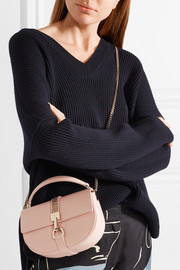 Lanvin Lien mini chain-trimmed leather shoulder bag