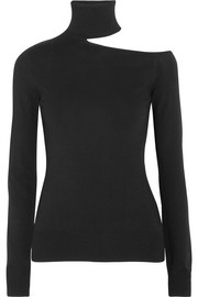 Emilio Pucci Cutout knitted turtleneck sweater
