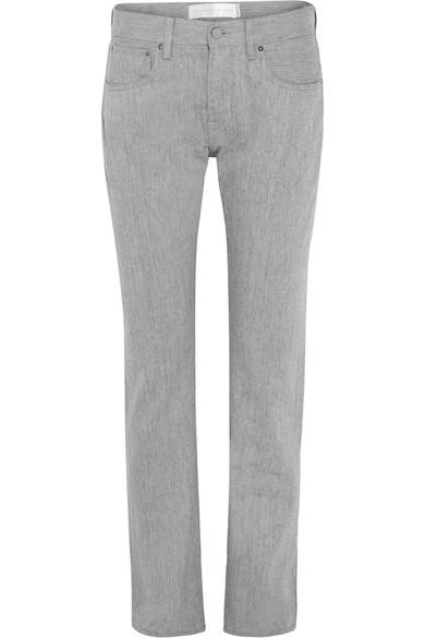 Buy Cheap Best Sale Hakone High-rise Straight-leg Jeans - Light gray Victoria Beckham Cheap Sale Deals KhNC1bxK