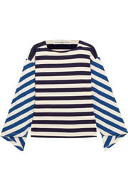 Golden Goose Deluxe Brand Nora striped stretch-cotton jersey top