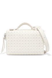 Tod's Bauletto studded leather shoulder bag
