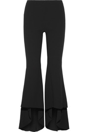 Alice + Olivia Jinny crepe flared pants