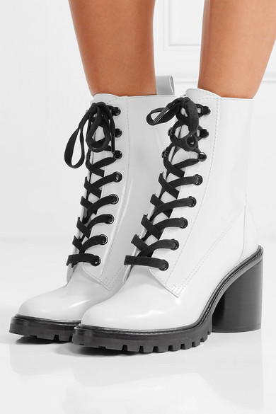 Wiki Online Cheap In China Marc Jacobs Women's Ryder Leather High-Heel Booties Clearance Geniue Stockist Cheap Sale New Styles Cheap For Sale LRTkpnT
