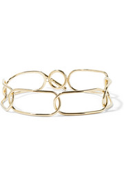 Chain Link gold-plated choker