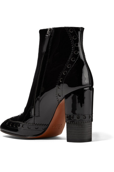 7eacd6c7d8de Chloé. Perry patent-leather ankle boots.  430. Zoom In