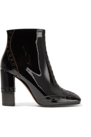Perry patent-leather ankle boots