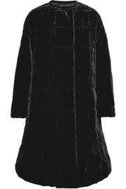 Tao oversized velvet coat