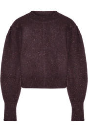 Isabel Marant Elaya cropped knitted sweater