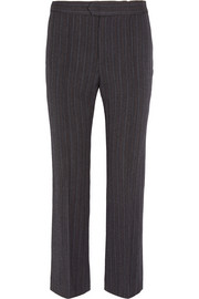 Jerem pinstriped wool-blend straight-leg pants