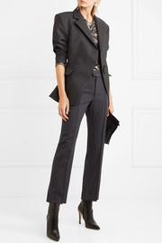 Isabel Marant Jerem pinstriped wool-blend straight-leg pants