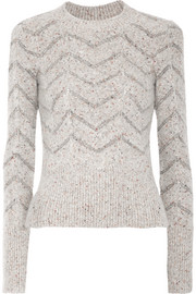 Isabel Marant Elson mélange knitted sweater