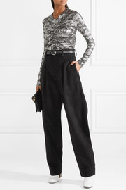 Isabel Marant Peter velvet wide-leg pants