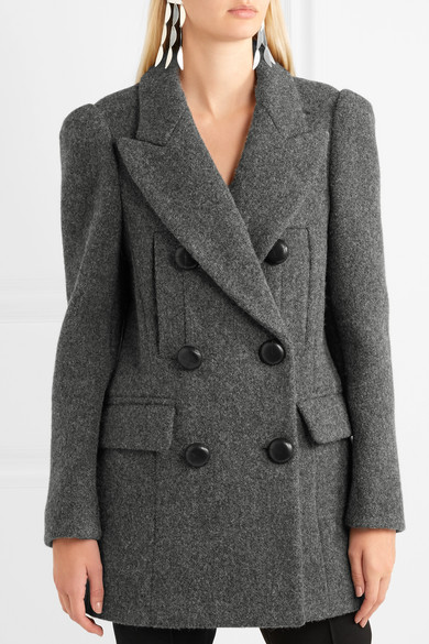 Isabel Marant. Oversized double-breasted wool coat