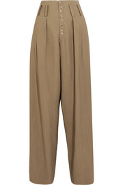 Howard woven wide-leg pants
