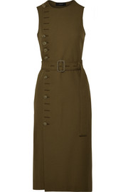 Joseph Gillis wool-twill midi dress