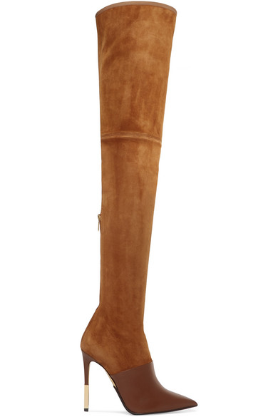 93af23e2370 Amazon suede and leather over-the-knee boots. £823. Zoom In