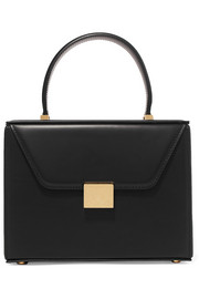 Vanity mini leather tote