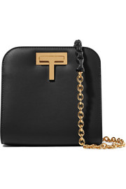T Lock small leather shoulder bag