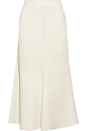 Beaufille Minos stretch-crepe midi skirt