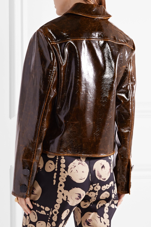 Beaufille Nix Jacke aus einer glänzenden Wollmischung