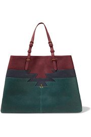 Jérôme Dreyfuss Maurice color-block leather tote