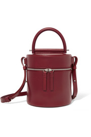 Building Block Drum leather shoulder bag