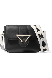 Sara Battaglia Amore textured-leather shoulder bag