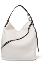 Proenza Schouler Hobo medium textured-leather shoulder bag