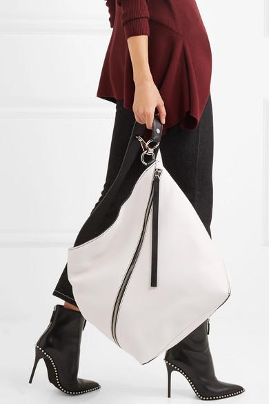 Proenza Schouler Hobo mittelgroße Schultertasche aus strukturiertem Leder