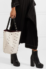 Proenza Schouler Hex embellished leather tote