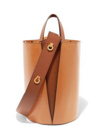 Lorna mini leather tote
