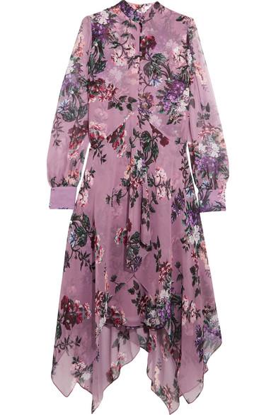 Erdem. Kaylah floral-print silk-chiffon midi dress
